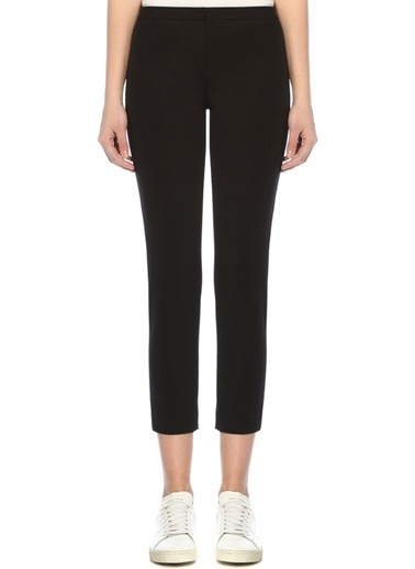 Theory Normal Bel Klasik Skinny Streç Pantolon Siyah
